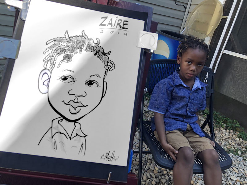 Birthday Party Caricatures By Eric Melton