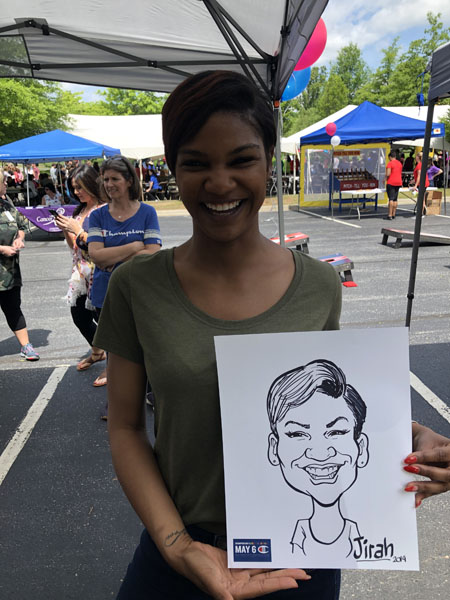 Company Picnic Caricatures By Eric Melton