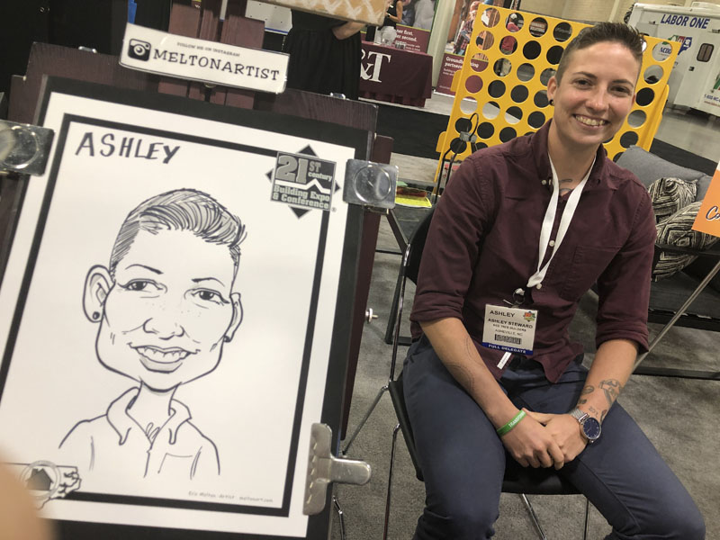Trade Show Caricature Artist Charlotte NC