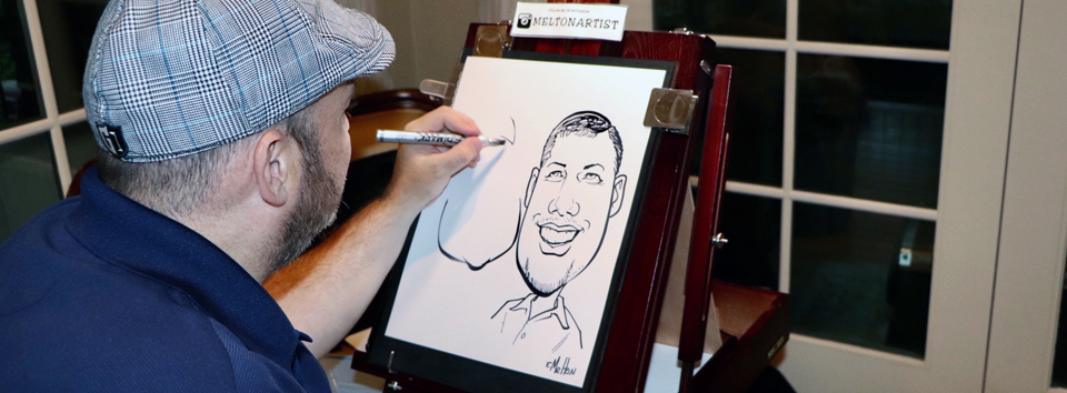 Melton Art Caricature Event